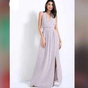 TFNC London Harleen Lavender Maxi Dress Sz 14 NWT